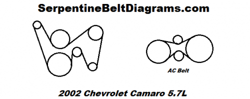 Chevrolet Camaro Belt E on 2002 Ford Focus Serpentine Belt Diagram