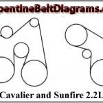 2001 Cavalier Belt Diagram